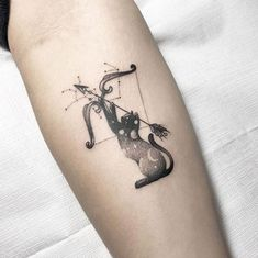 Sagittarius tattoo by Cheng