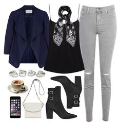 """""""Casual"""" by foreverdreamt ❤ liked on Polyvore featuring Monsoon, J Brand, Yves Saint Laurent, The Row, Alexander McQueen and Joanna Maxham"""