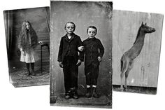 Photographs found at places like flea markets inspire Ransom Riggs, a best-selling author in the young-adult genre.