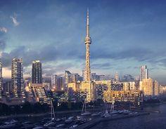 Cn Tower, Gallery, Building, Behance, Travel, Check, Viajes, Roof Rack, Buildings