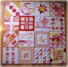 Más tamaños | 3 x 6 and 4 x 5 Bee quilt squares | Flickr: ¡Intercambio de fotos!