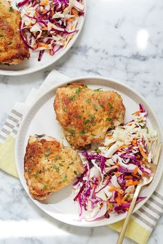 Parmesan-Ranch Chicken Thighs #purewow #chicken #main course #easy #cheese #dinner #recipe #meat