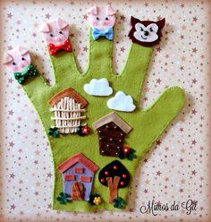 Glove Puppets, Felt Puppets, Felt Finger Puppets, Puppet Crafts, Felt Crafts, Animal Hand Puppets, Felt Board Stories, Baby Bug, Cartoon Panda