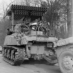 Sherman calliope with trailer