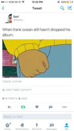Still waiting Frank