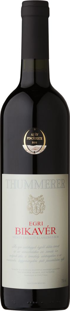 Thummerer Egri Bikavér (Bull's Blood) Hungarian wine High quality Red wine Wines, Vodka Bottle, Red Wine, Blood