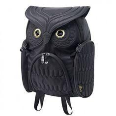 Fashion Street Cool Owl Shape Solid Computer Backpack School Bag Travel Bag just $44.99 in ByGoods.com