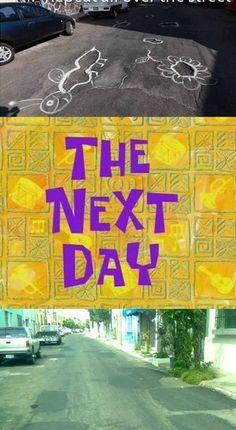 GENIUS! Pothole Problem Solved! Haha, click for more hilarious Car Memes! #spon #GeniusLevel