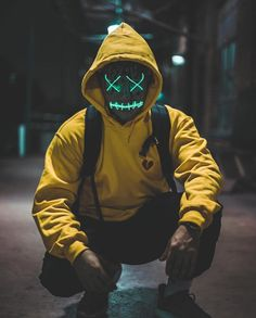 Purge Mask - Halloween Mask - LED Light Up Mask - Perfect for Parties and Raves and photoshoots Character Inspiration, Character Design, Purge Mask, Dope Art, Picsart, Cyberpunk, Concept Art, Graffiti, Neon