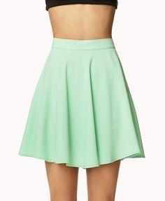 Crepe Women Skater Skirt forever21 | 17,75€