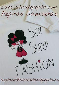 Las cositas de Pepita: Camisetas molonas pintadas a mano