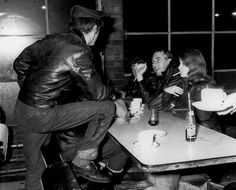 Bikers of the 59 Club, London early 1960s
