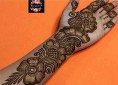 Mehndi Designs Book, Mehndi Designs For Beginners, Unique Mehndi Designs, Wedding Mehndi Designs, Beautiful Henna Designs, Arabic Mehndi Designs, Mehndi Art, Mehendi, Mahendi Design