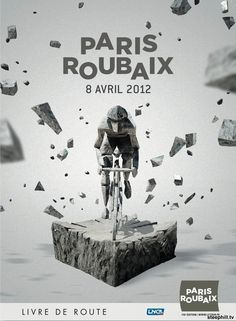Race poster for the 110th edition of Paris-Roubaix