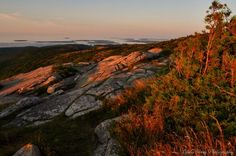 Fire Mountain--another sunrise at Mount Cadillac