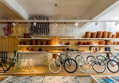 Monochrome Bikes store by Nidolab Buenos Aires