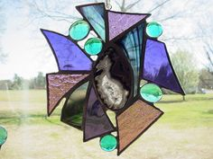 abstract stained glass    Via Bonnie Babcock