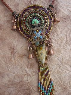 Heidi Kummli interesting use of different beads