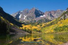 Maroon Bells near Aspen Colorado