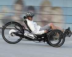 Fancy - Scorpion Folding Electric Trike. Scorpion Folding Electric Trike  The touring trike's low center of gravity and the good rider support in the ergonomically-designed recumbent seat enable dynamic acceleration. $8500
