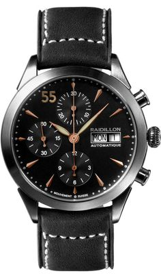 Raidillon Watch Timeless Chronograph Limited Edition Fossil Watches For  Men acf332bf462