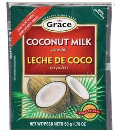 Grace Coconut Milk Powder (USA) 36 Pack * More info could be found at the image url. Gourmet Recipes, Snack Recipes, Coconut Milk Powder, Seafood Stew, Powdered Milk, Milkshake, Healthy Drinks, Hot Chocolate, Smoothies
