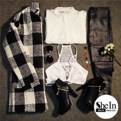 THE OUTFIT TO MAKE THIS WEEKEND CHIC. -SheIn