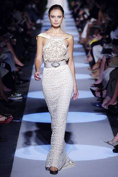 Badgley Mischka Spring 2006 Ready-to-Wear Fashion Show - Inguna Butane