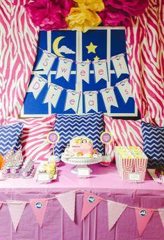 Cutest slumber party snack bar Event planning Pinterest