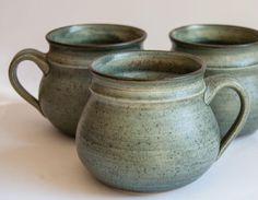 Danish Australian Studio Pottery 6x Cups/Mugs Jans Ceramic Keramik