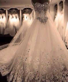 Stunning Jeweled Wedding Dresses Ideas - Styles & Ideas 2018 ...