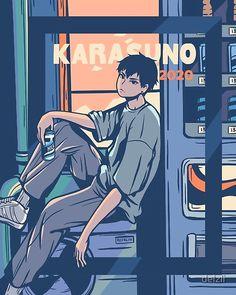 Kageyama Tobio, Kagehina, Haikyuu Manga, Haikyuu Fanart, Fanarts Anime, Anime Characters, Japon Illustration, Haikyuu Wallpaper, Karasuno