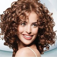 Spiral Curls And A Stylish Spiral Perm Throughout Inspirations Spiral Perm Hairstyle - Hair Style Ideas Medium Permed Hairstyles, Short Permed Hair, Curly Perm, Brown Curly Hair, Loose Hairstyles, Straight Hairstyles, Teenage Hairstyles, Long Curly, Fine Curly Hair