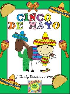 Help your students understand the fun holiday, Cinco de Mayo with this exciting and colorful resource! Activities include:*a reproducible book*...