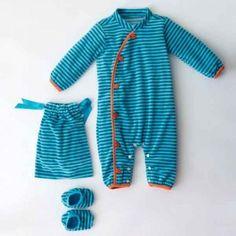 Babypakje met slofjes (PDF patroon), knippie