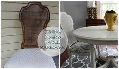 Take a Seat - Dining Furniture Makeover - 2 Bees in a Pod