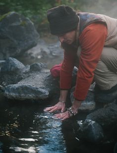 Keyhole Hot Springs (aka Pebble Creek Hot Springs) located 100 kilometres from Whistler, BC, Canada ||| Hiking Photography