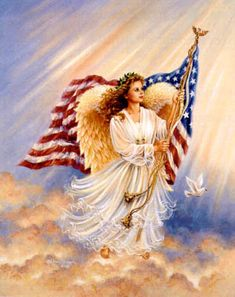 American Angel - Cross Stitch Pattern