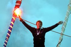 François Gabart, le plus jeune skipper vainqueur du Vendée Globe, en 78 jours. Même Jules Verne ne pensait pas faire mieux !