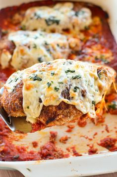 Slimming Eats Chicken Parmesan - Slimming World and Weight Watchers friendly Super Healthy Recipes, Skinny Recipes, Healthy Foods To Eat, Healthy Dinner Recipes, New Recipes, Healthy Eating, Recipies, Duck Recipes, Health Recipes