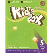 Kid S Box Updated 2nd Edition 5 Activity Book Pdf Download Ebook