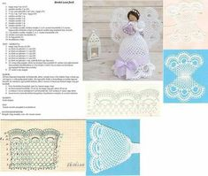 Best 12 – Page 675328906608247839 - Her Crochet Christmas Angel Decorations, Angel Christmas Tree Topper, Crochet Christmas Ornaments, Christmas Crochet Patterns, Crochet Snowflakes, Christmas Angels, Crochet Angel Pattern, Vintage Crochet Patterns, Crochet Angels