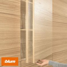 Blum TIP-ON - The solution for handle-less furniture.