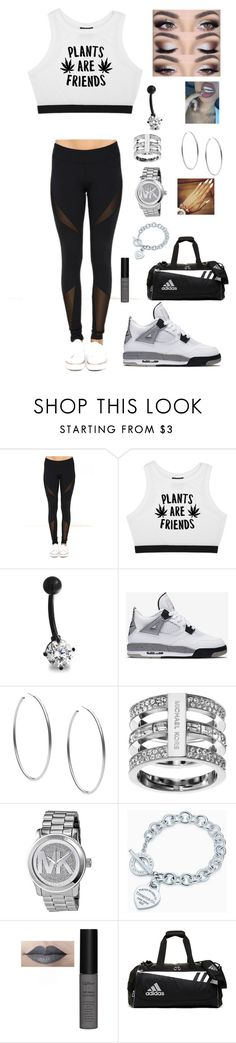 """""""Untitled #265"""" by brie-karitsa-luciano on Polyvore featuring Dance & Marvel, Minga, Bling Jewelry, NIKE, Michael Kors, Tiffany & Co. and adidas"""