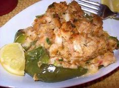Seafood Stuffed Bell Peppers Recipe