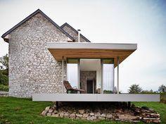 """""""Villers-en-Fagne, Belgium Dehullu Architecten Image © Dennis De Smet #architecture #archidaily #archilovers #instarchitecture #extension #renovation…"""""""