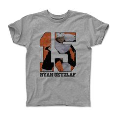 Brittan Golden Game R Ryan Getzlaf, Youth Age, Walter Payton, Game R, 6 Years, Classic T Shirts, Unisex, Boys, Mens Tops