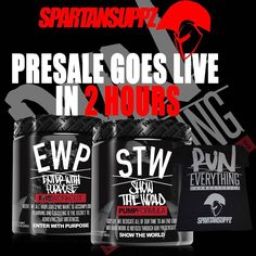 2 Hours till Enter With Purpose & Show the World from @runeverythinglabs goes live in Australia at Spartansuppz.com! Click the link in the Bio to subscribe!