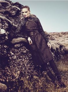 charlotte5 Charlotte Tomaszewska Dons Luxe Style for Vogue Portugal November 2012 by Kevin Sinclair
