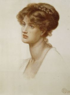 Dante Gabriel Rossetti - Marie Spartali Stillman (10 March 1844 – 6 March 1927), British Pre-Raphaelite painter of Greek descent, arguably the greatest female artist of that movement. During a 60-year career she produced over 100 works, contributing regularly to exhibitions in Great Britain and the United States. She was considered a great beauty and sat for several Pre-Raphaelite painters. --Wikipedia